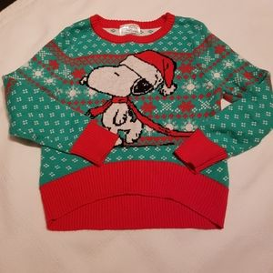 Snoopy & Woodstock sweater 18 months
